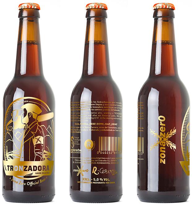 Tronzadora, la cerveza oficial de Zona Zero