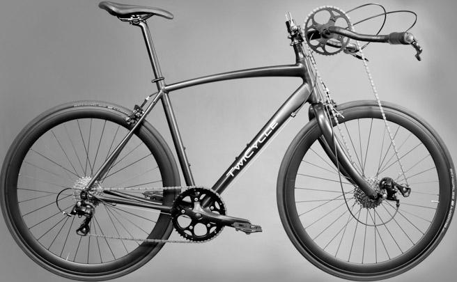 TwiCycle, una bicicleta con doble sistema de transmisión para pedalear con las piernas... y los brazos