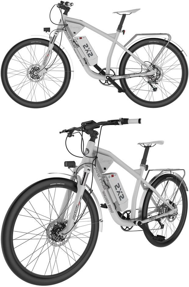 TwinBurst, bicicletas eléctricas con asistencia a las dos ruedas