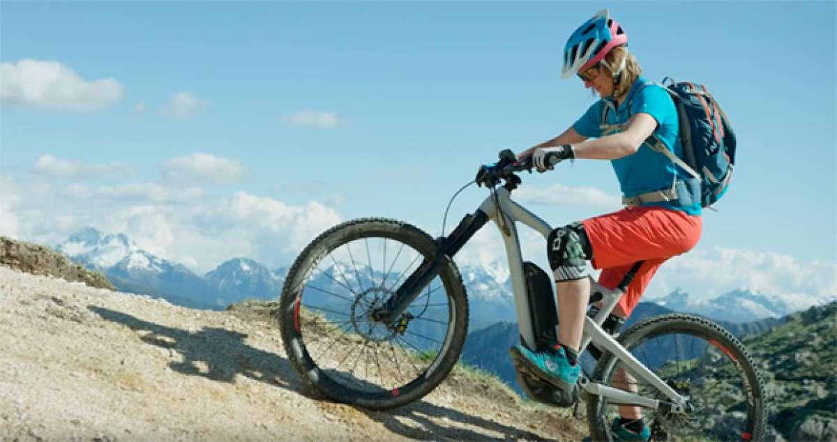 'Uphill Flow 2', bicicletas de montaña eléctricas con motor Bosch en acción