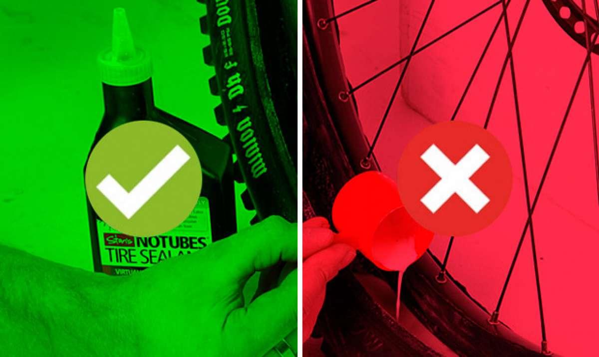 Las ventajas (y desventajas) de las ruedas tubelizadas