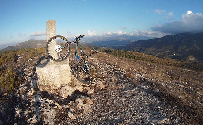 La foto del día en TodoMountainBike: 'Vértice geodésico de la Cova Alta'