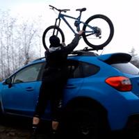 Brandon Semenuk + Un Subaru Crosstrek + Una Trek Slash = Combinación explosiva