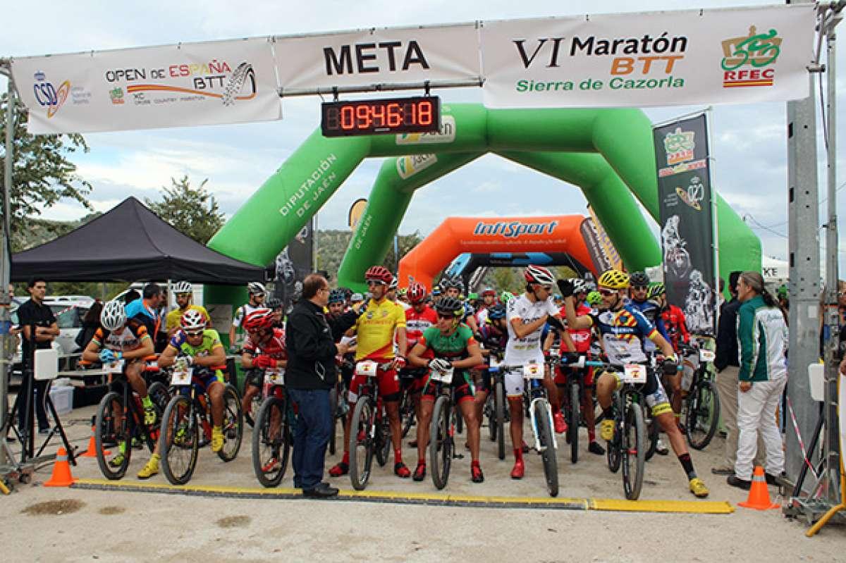 Todo listo para la VII Maratón BTT Sierra de Cazorla