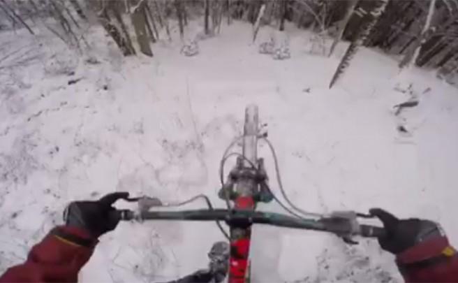 Rodando sobre la nieve a toda velocidad con Vincent Tupin