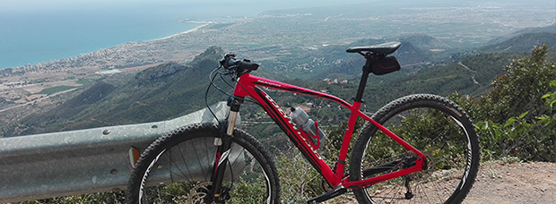 La foto del día en TodoMountainBike: 'Vista de Benicàssim y Grao de Castellón'