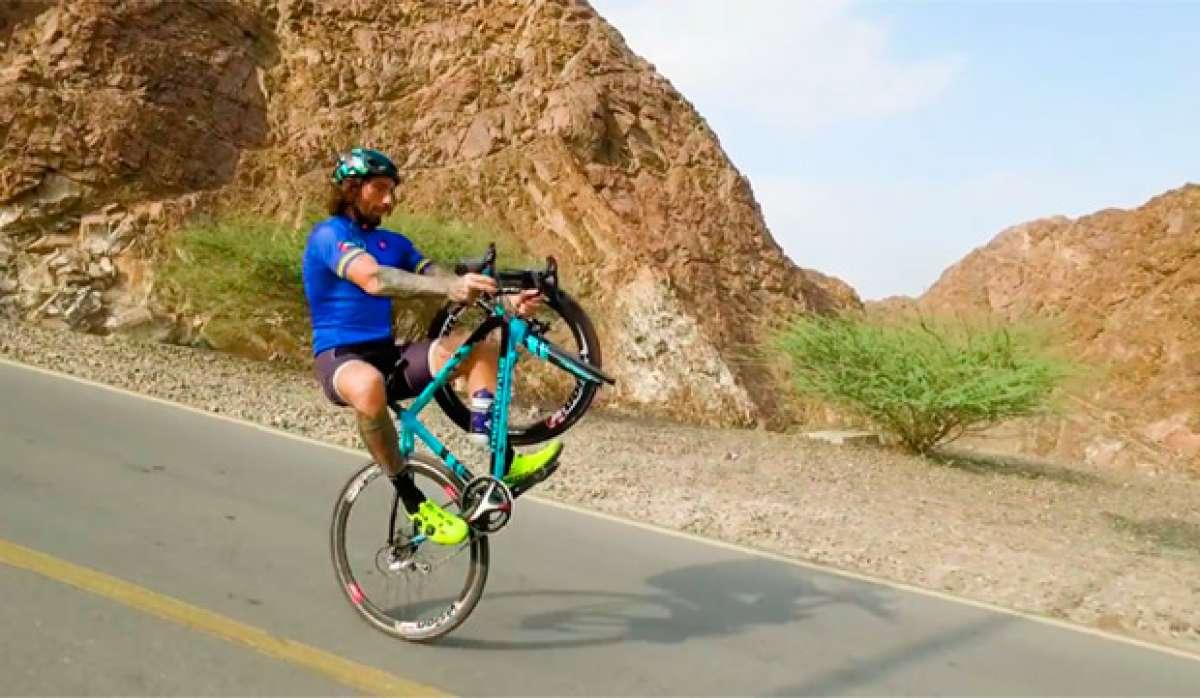 En TodoMountainBike: Freestyle extremo con Vittorio Brumotti en las cinco sedes del Dubái Tour 2017