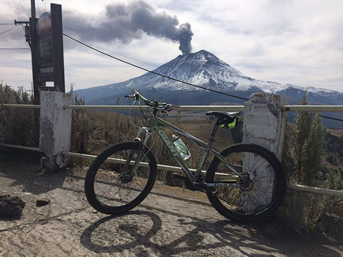 """La foto del día en TodoMountainBike: """"El Volcán Popocatépetl"""""""