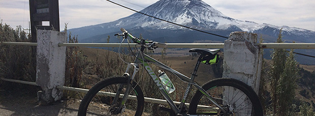 La foto del día en TodoMountainBike: 'El Volcán Popocatépetl'