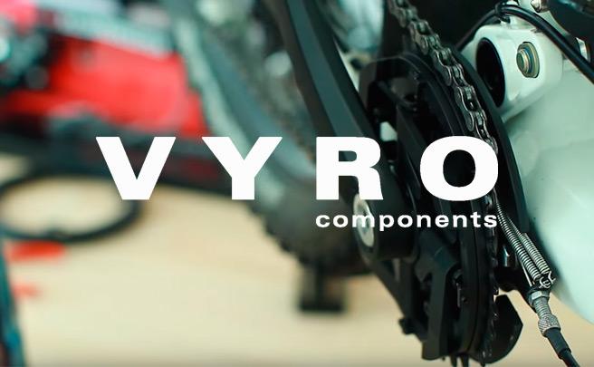 Vyro AmEn, un curioso sistema que elimina el desviador delantero en las transmisiones de dos platos