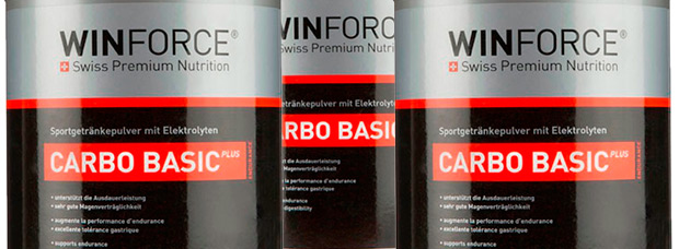 Nuevo sabor neutro para el Winforce Carbo Basic Plus