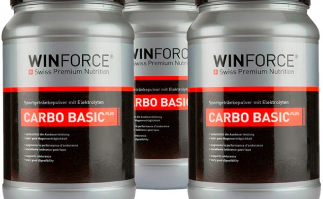Nuevo sabor neutro para el Winforce Carbo Basic Plus