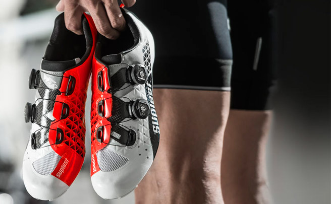 Las zapatillas de ciclismo de Suplest, ya disponibles en España