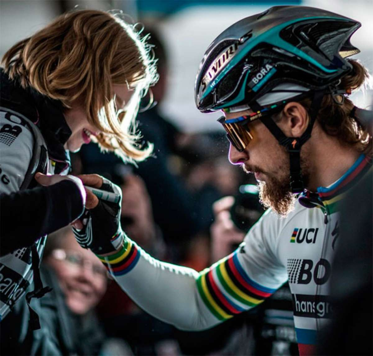 A la venta las gafas 100% Speedcraft Soft Tact Peter Sagan Edition