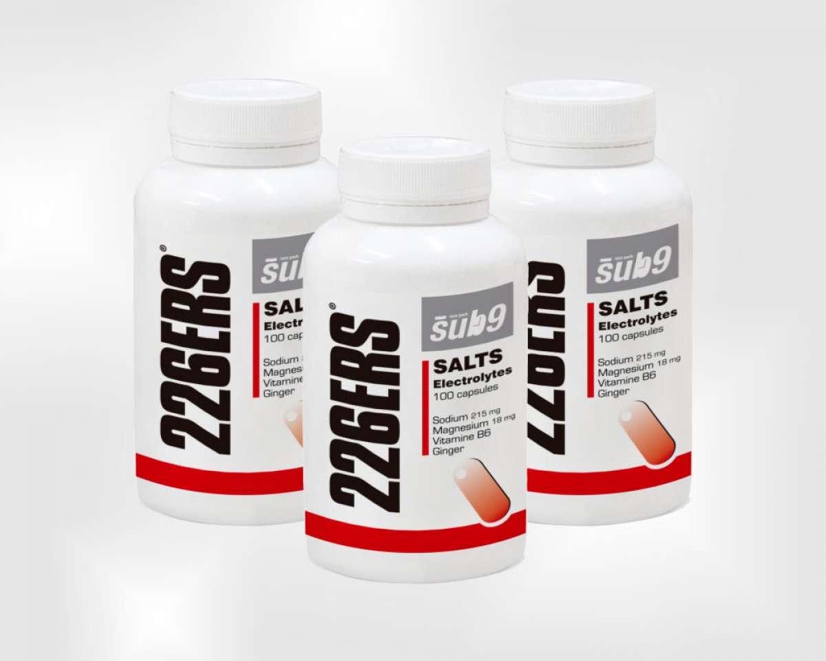 Adiós a la deshidratación y los calambres con las 226ERS Sub9 Salt Electrolytes