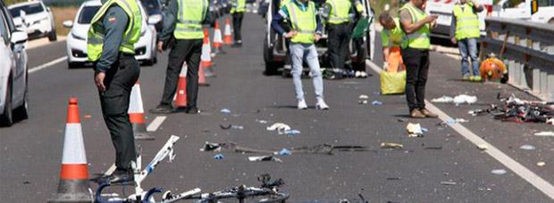 Otro ciclista asesinado en Oliva (Valencia) por un conductor con positivo en drogas