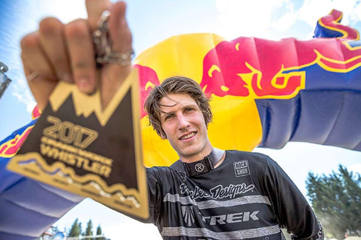 El repertorio de trucos de Brandon Semenuk para llevarse la victoria del Red Bull Joyride 2017