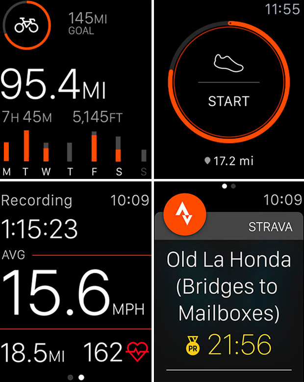 Adiós al iPhone con la última actualización de Strava para el Apple Watch Series 2