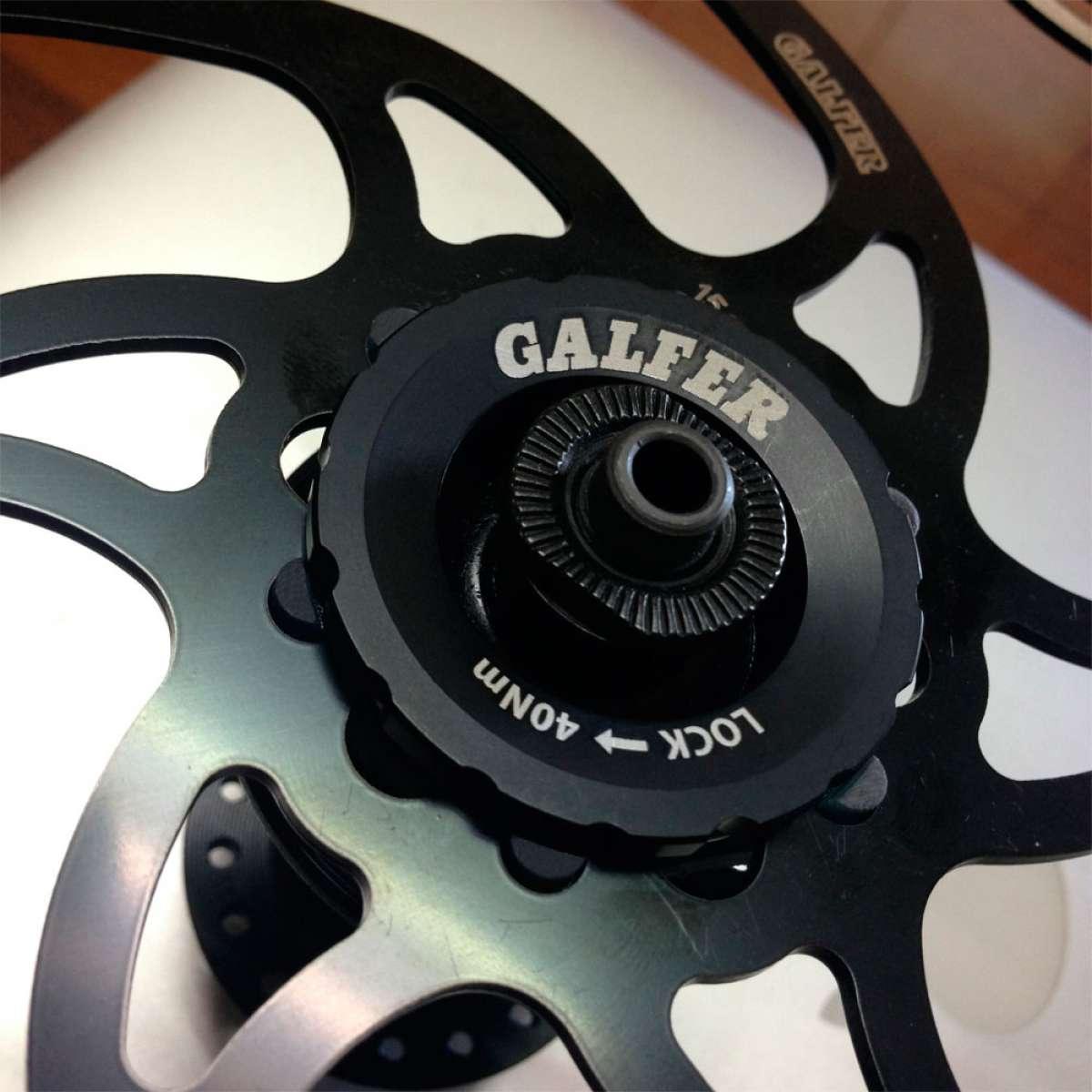 Galfer presenta un adaptador para bujes Shimano Center Lock