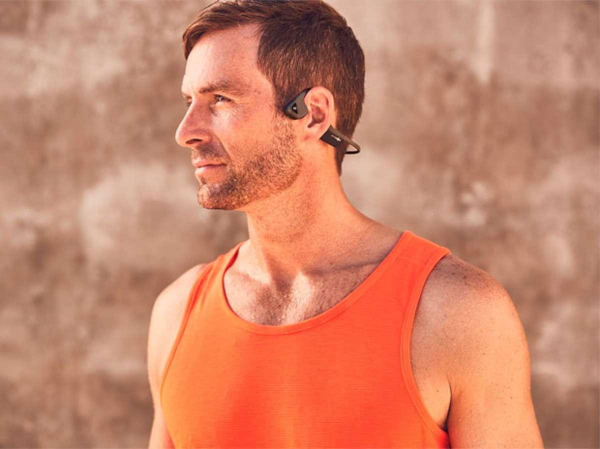 AfterShokz Trekz Air, unos auriculares por conductividad ósea para pedalear sin infringir la ley
