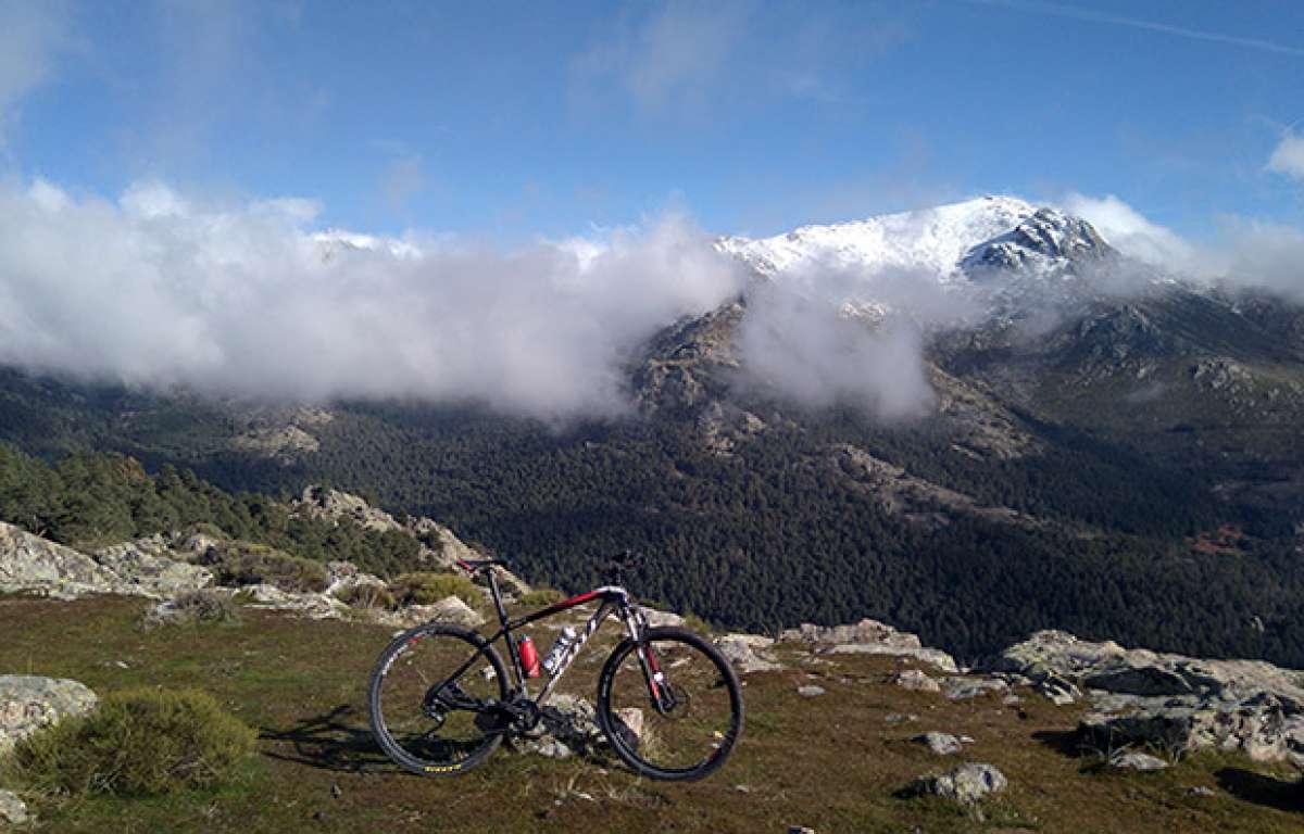 En TodoMountainBike: La foto del día en TodoMountainBike: 'En bici por la sierra'