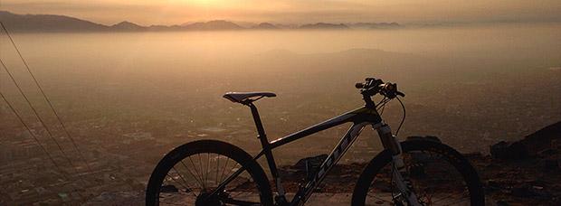 La foto del día en TodoMountainBike: 'Antenas del Morro Solar'