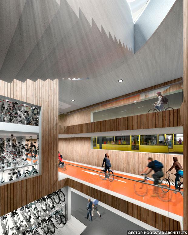 En TodoMountainBike: Así será el mayor aparcamiento público de bicicletas del mundo, en Holanda