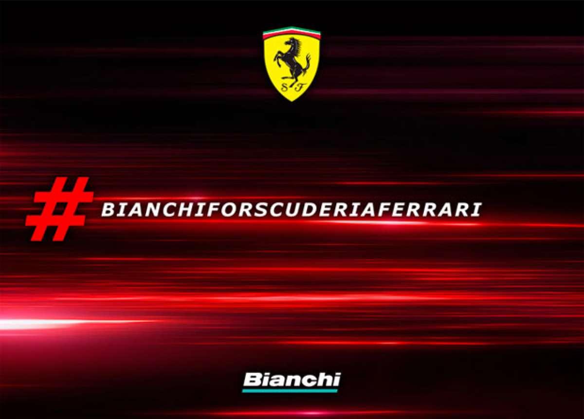 Bianchi y Ferrari unen fuerzas para crear una completa gama de bicicletas de alto rendimiento