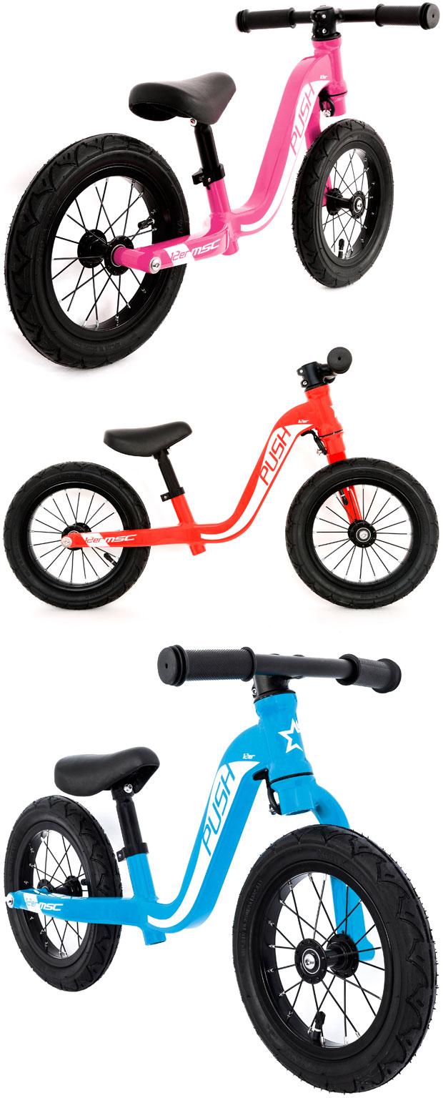 En TodoMountainBike: MSC Push 12er, una minimalista bicicleta de equilibrio para los más pequeños de la casa