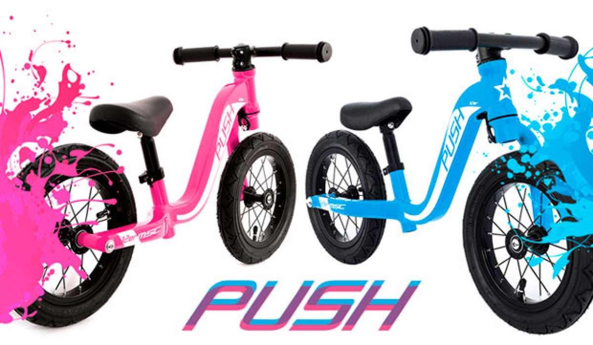 MSC Push 12er, una minimalista bicicleta de equilibrio para los más pequeños de la casa