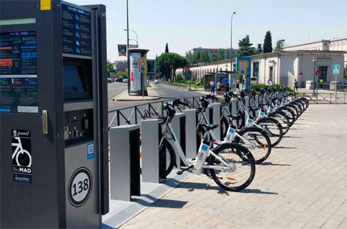 El servicio municipal BiciMAD, incluido en la Tarjeta de Transporte Público de la Comunidad de Madrid (TTP)