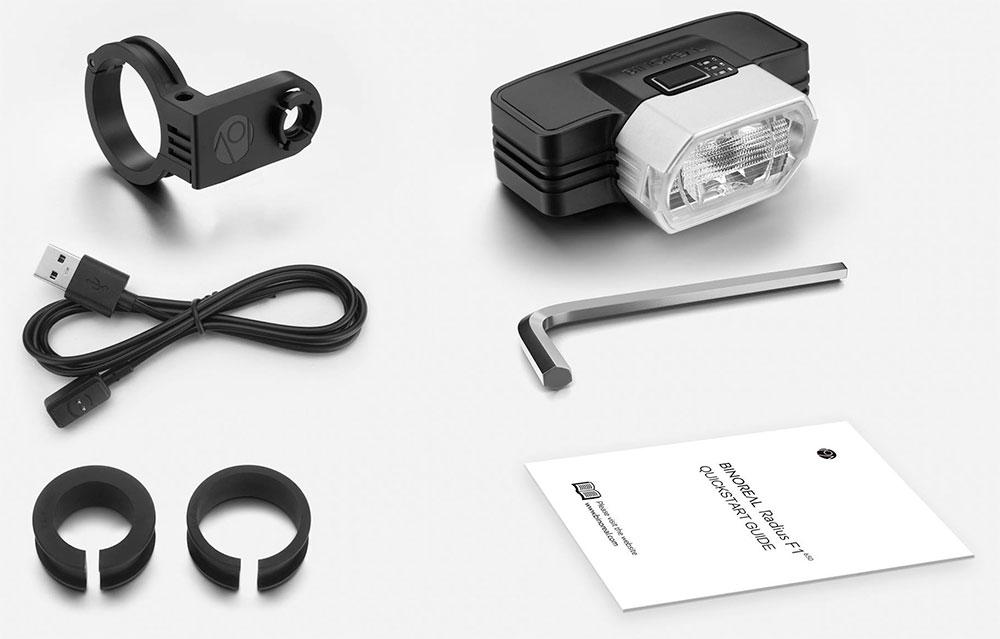 En TodoMountainBike: Radius F1, una luz frontal inteligente que adapta su potencia lumínica a la velocidad del ciclista
