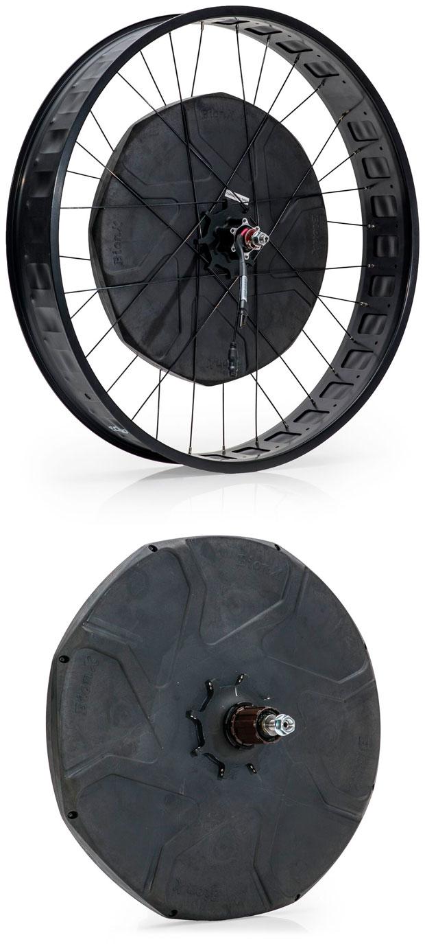 En TodoMountainBike: ¿Problemas de pedaleo con una Fat Bike? Llega el kit de conversión a eléctrica BionX D-Series para ruedas gordas
