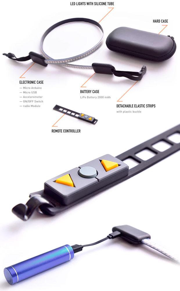 En TodoMountainBike: BlinkLight, luces inteligentes en formato 'vestible' para mejorar la seguridad de los ciclistas
