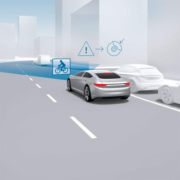 En TodoMountainBike: Bosch iBooster, el sistema de frenada de emergencia que evitará atropellos a ciclistas
