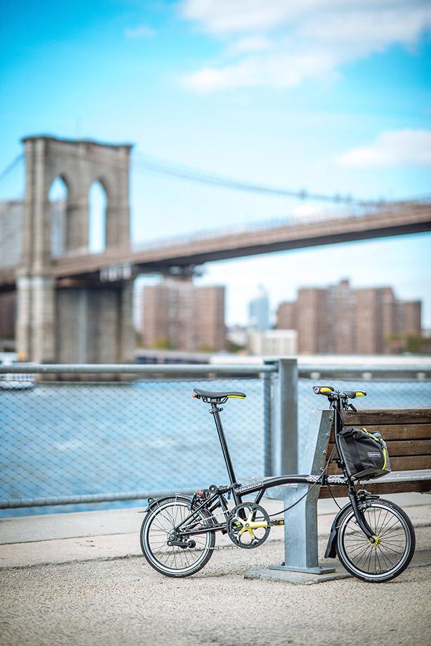 En TodoMountainBike: Brompton New York City Edition, una edición limitada inspirada en la Gran Manzana