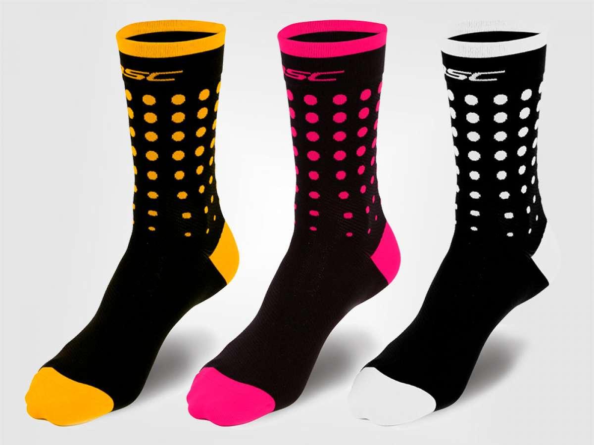 Colores para todos los gustos y una óptima sujeción con los calcetines MSC Flamingo