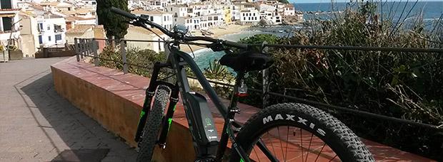La foto del día en TodoMountainBike: 'En bici por la Costa Brava'