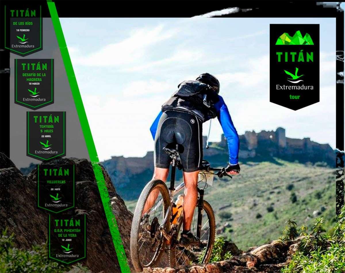 Calendario del circuito Titán Extremadura Tour 2018