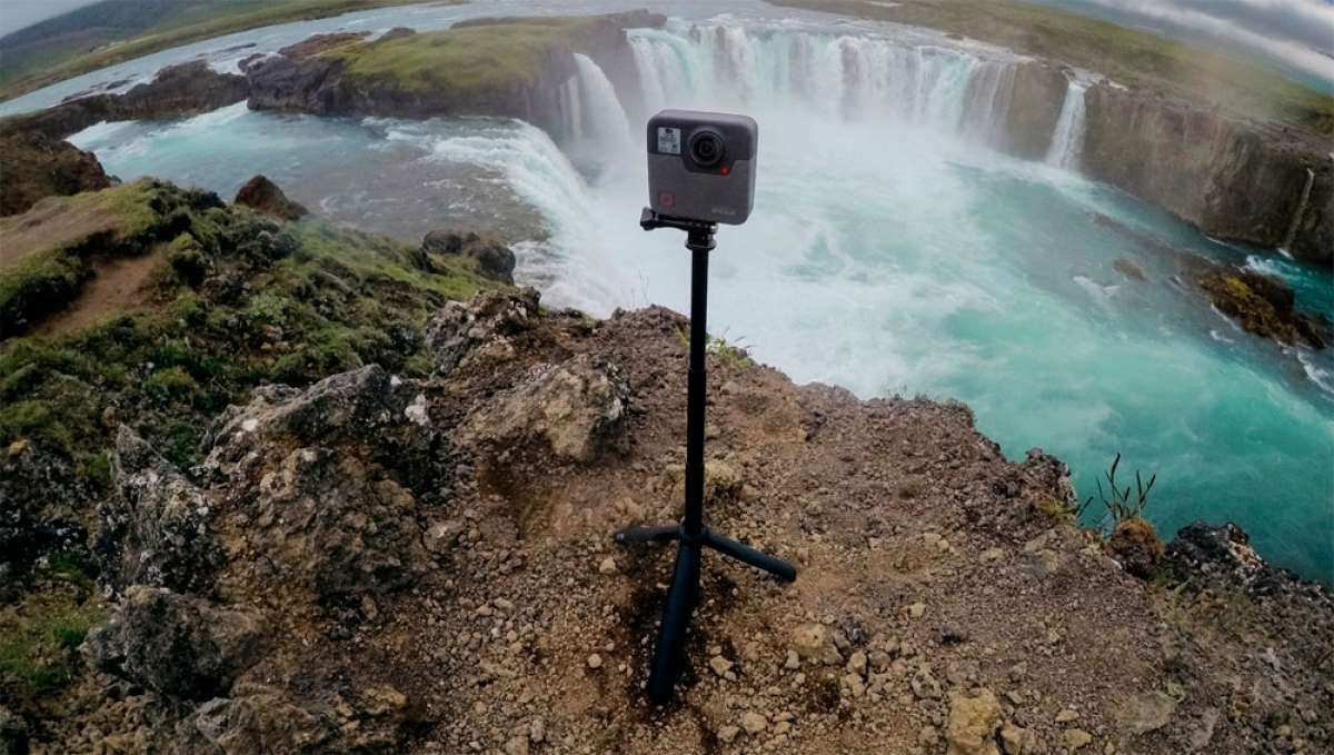 En TodoMountainBike: La cámara esférica GoPro Fusion, ya a la venta