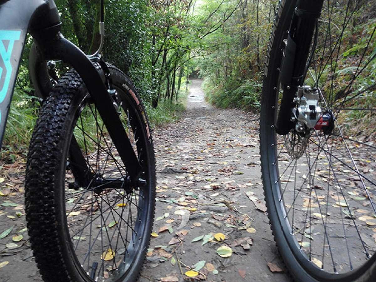 En TodoMountainBike: La foto del día en TodoMountainBike: 'Compartiendo ruta'