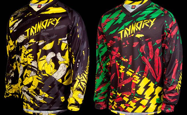Nueva camiseta para Descenso y Enduro de Taymory