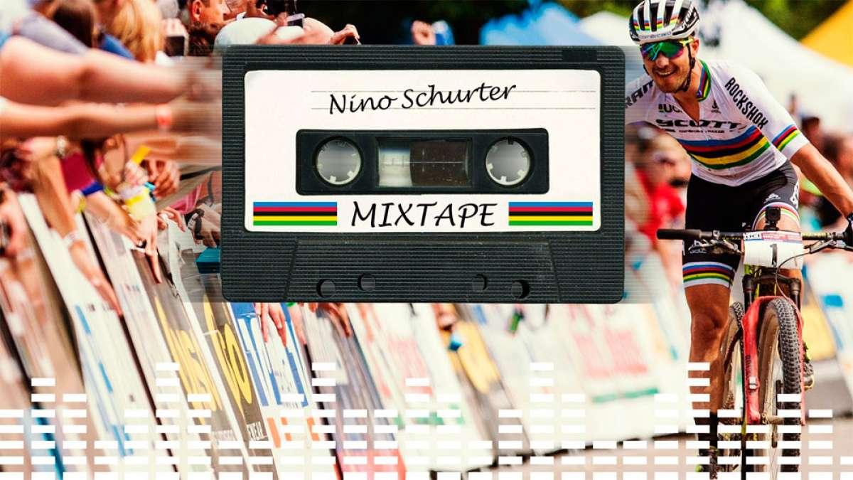 Las diez canciones favoritas de Nino Schurter, el imbatible campeón del mundo de XCO
