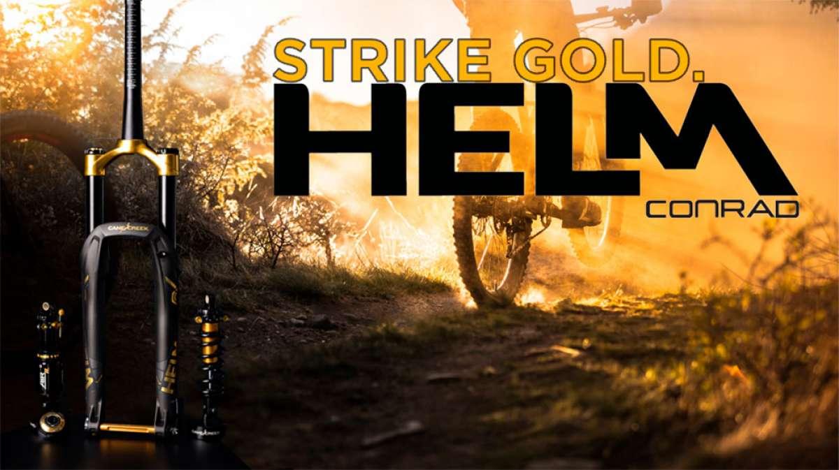 En TodoMountainBike: Edición limitada en color negro y dorado para la horquilla Cane Creek Helm