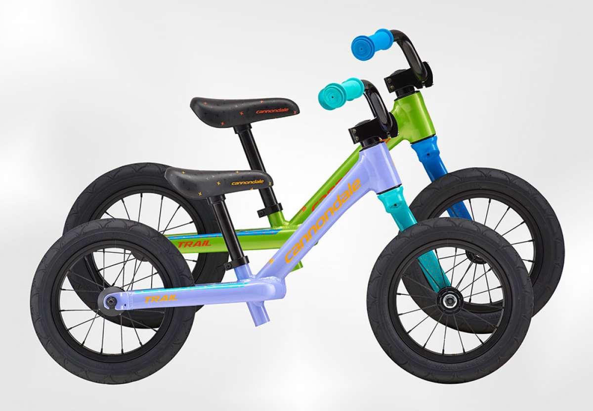 En TodoMountainBike: Cannondale Trail Balance 12, una bicicleta de equilibrio con horquilla Lefty