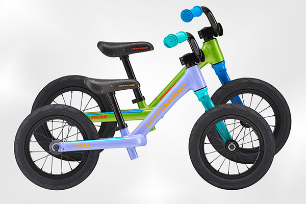 Cannondale Trail Balance 12, una bicicleta de equilibrio con horquilla Lefty