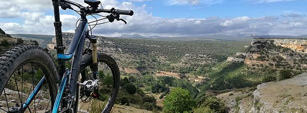 La foto del día en TodoMountainBike: 'Cañones de Ebro'