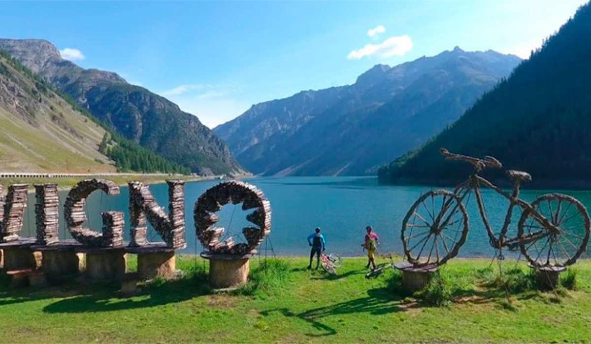 En TodoMountainBike: Hans Rey y Brian Lopes rodando por el Carosello 3000 Mountain Park de Livigno, en los Alpes italianos