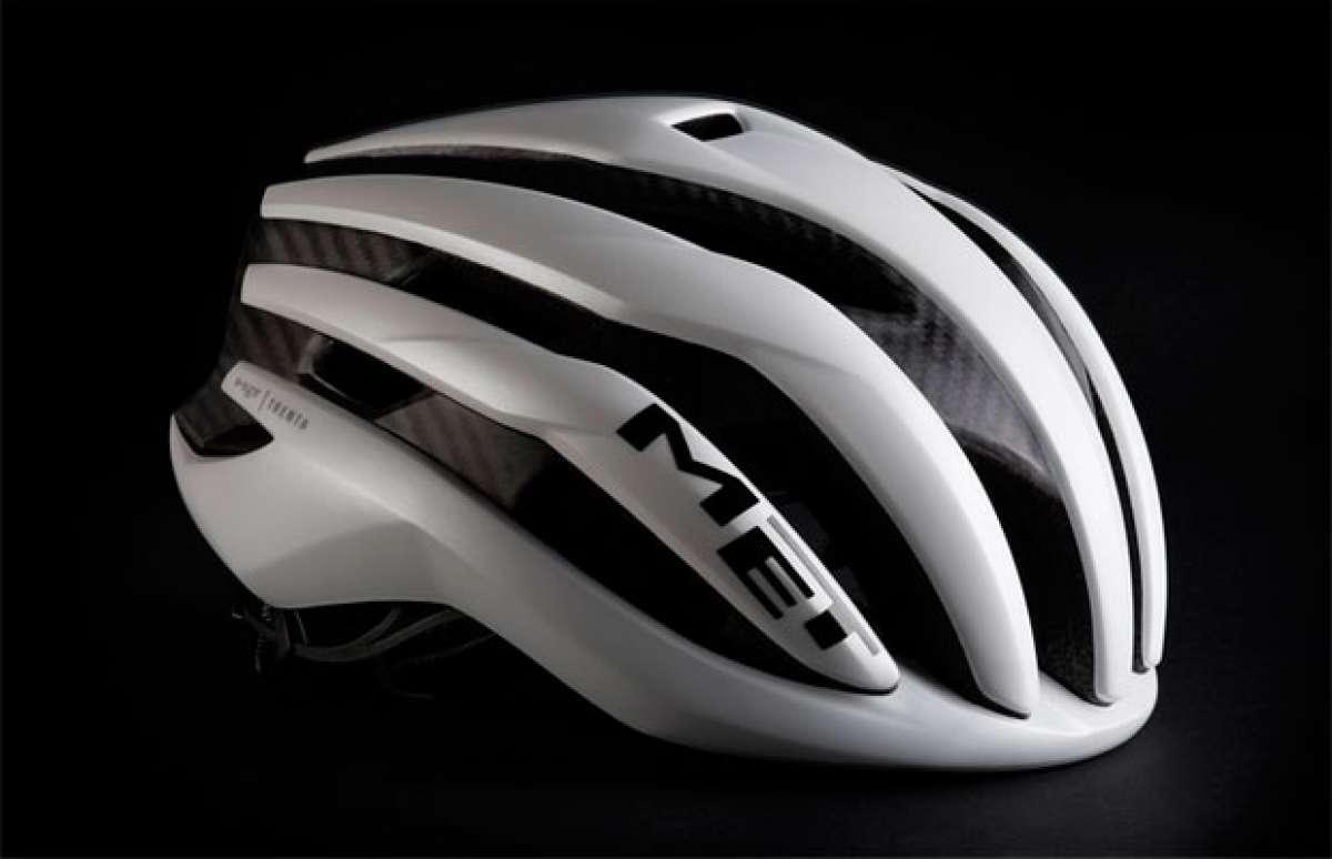 MET Trenta 3K Carbon, un casco con armazón de fibra de carbono para ganar en ligereza, aerodinámica y ventilación