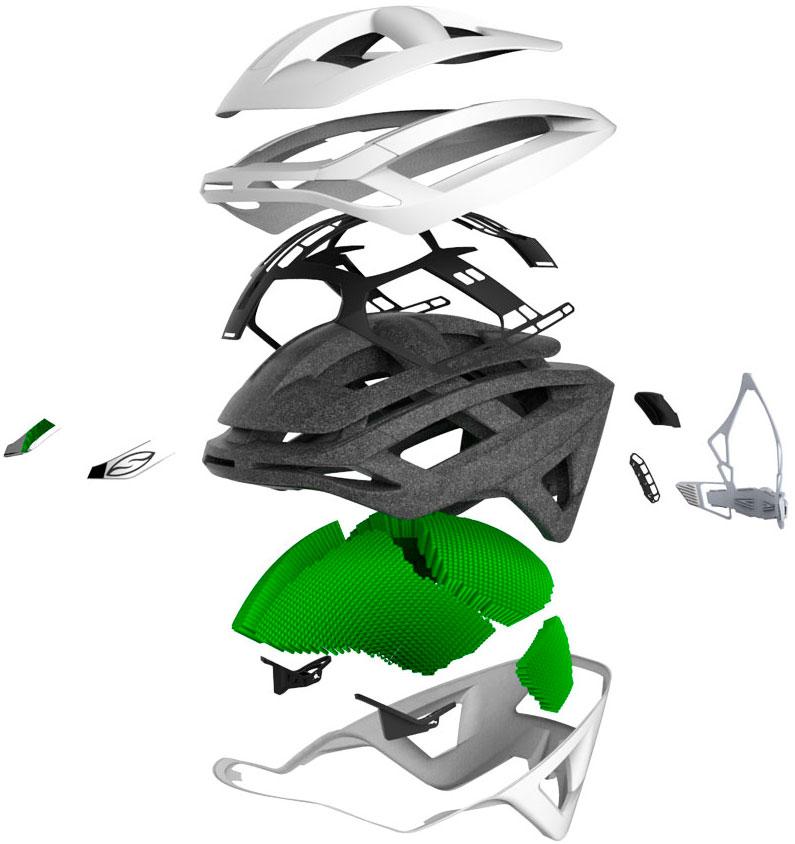 En TodoMountainBike: Smith Optics Overtake, máxima aerodinámica y protección en un casco diseñado para las carreras
